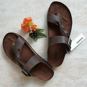 Sonoma genuine leather sandals